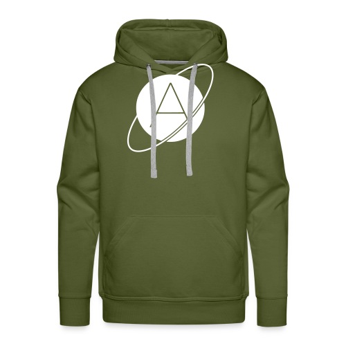Single Stamp Logo - Men's Premium Hoodie