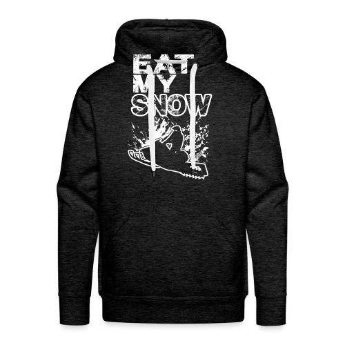 Snowmobile Eat My Snow - Men's Premium Hoodie