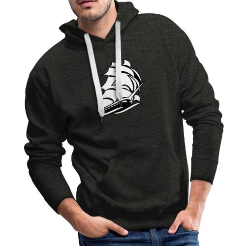 Old Tall Sailing Ship - Men's Premium Hoodie