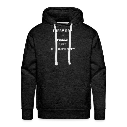 Opportunity (in White) - Men's Premium Hoodie