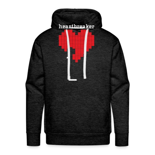 Heartbreaker Valentine's Day Game Valentine Heart - Men's Premium Hoodie