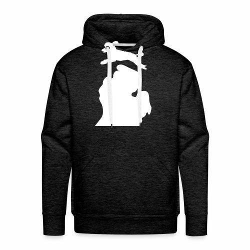 Bark Michigan poodle - Men's Premium Hoodie
