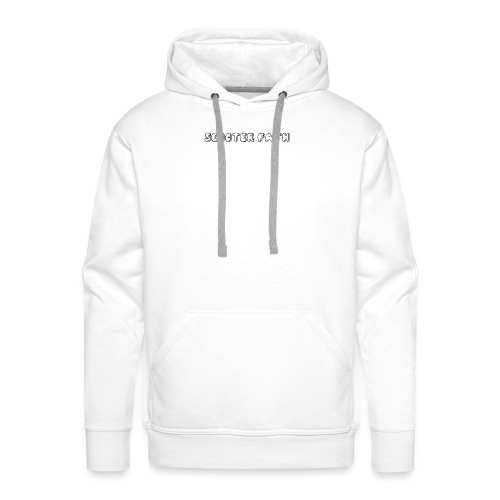 scooter path - Men's Premium Hoodie