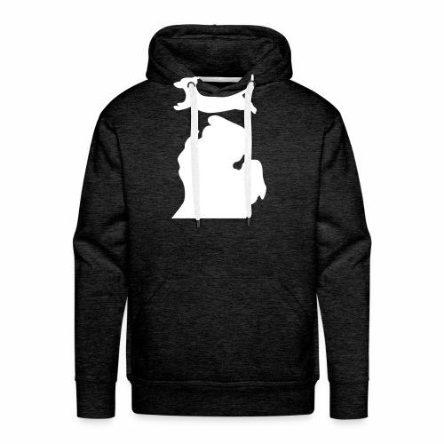 Dachshund Bark Michigan womens shirt - Men's Premium Hoodie