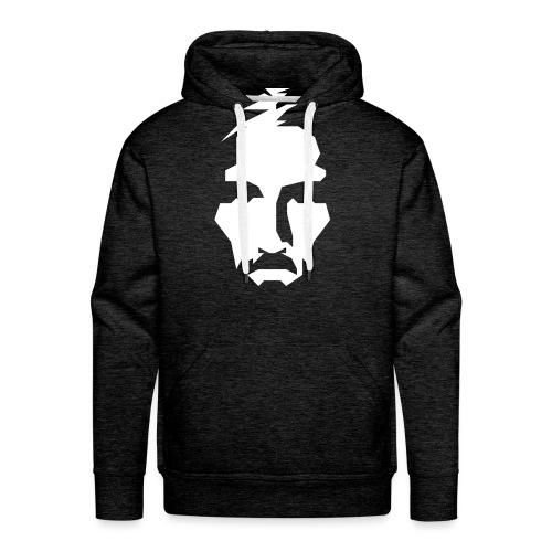 JESUS TSHIRT WHITE - Men's Premium Hoodie