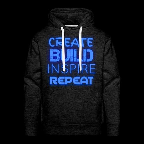 Create, Build, Inspire, Repeat - Men's Premium Hoodie