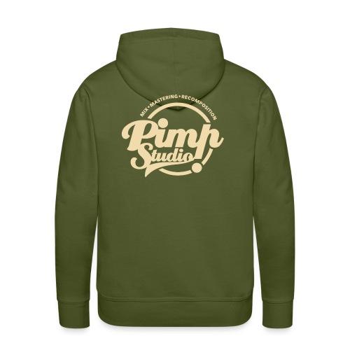 PIMP STUDIO gold - Men's Premium Hoodie