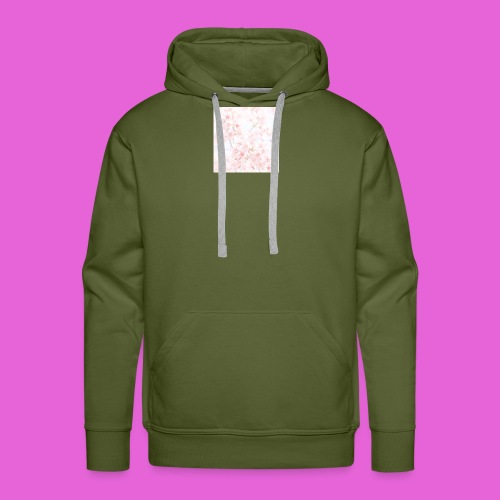 cute flower design - Men's Premium Hoodie