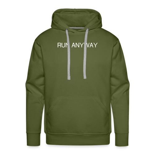 RUN ANYWAY - Men's Premium Hoodie
