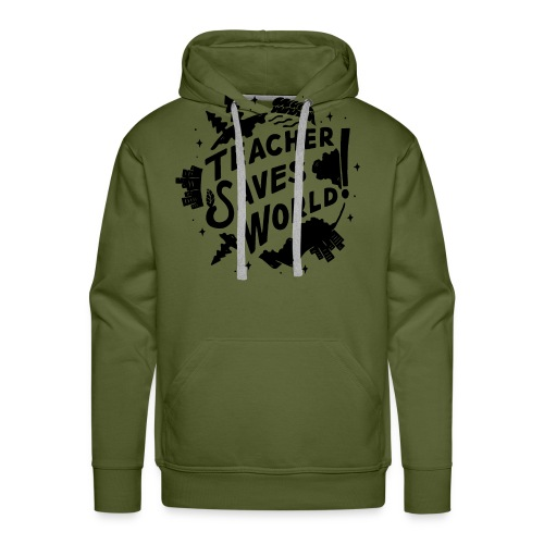 TSW! Retro World Design - Men's Premium Hoodie