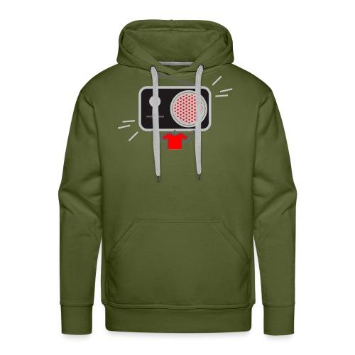 Red MusiqHead Merch - Men's Premium Hoodie