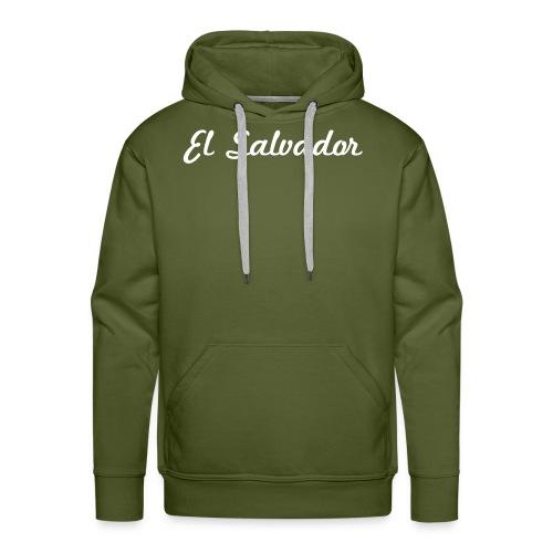 Heart El Salvador - Men's Premium Hoodie