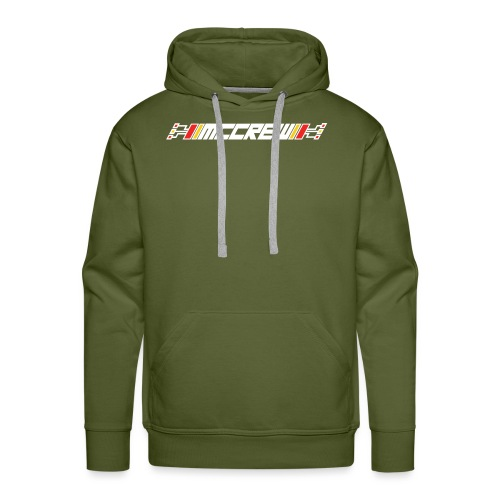 MCCREW back logo - Men's Premium Hoodie