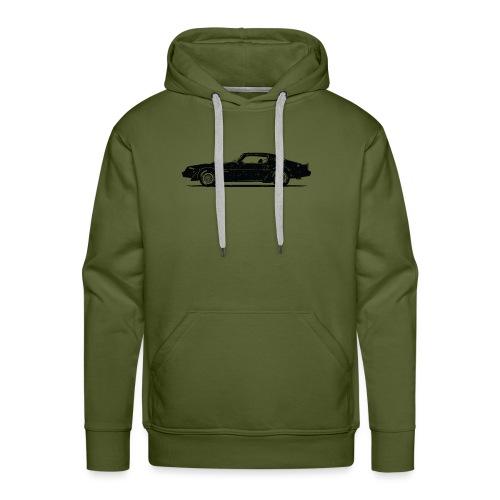 classic car grungy tshirt 01 - Men's Premium Hoodie