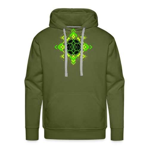 Design2_green - Men's Premium Hoodie