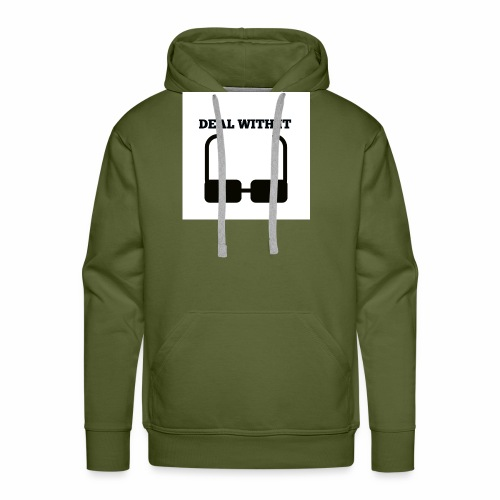 Deal with it - Men's Premium Hoodie