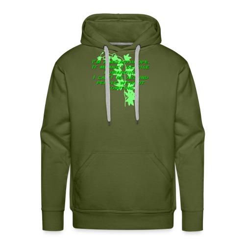 GO GREEN! - Men's Premium Hoodie