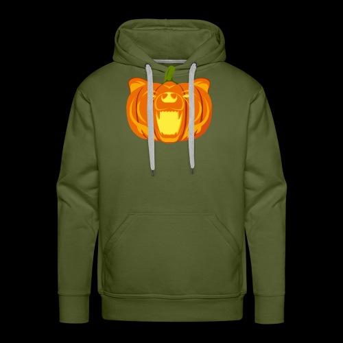 Pumpkin Bear - Men's Premium Hoodie