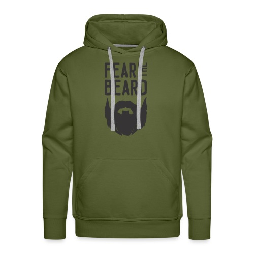 Fear the Beard - Men's Premium Hoodie