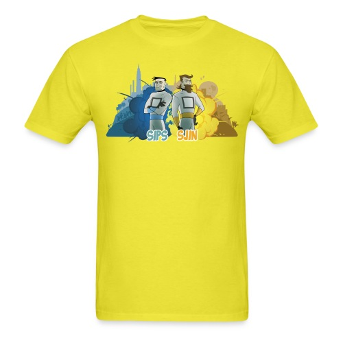 sipssjin shirt400dpi - Men's T-Shirt