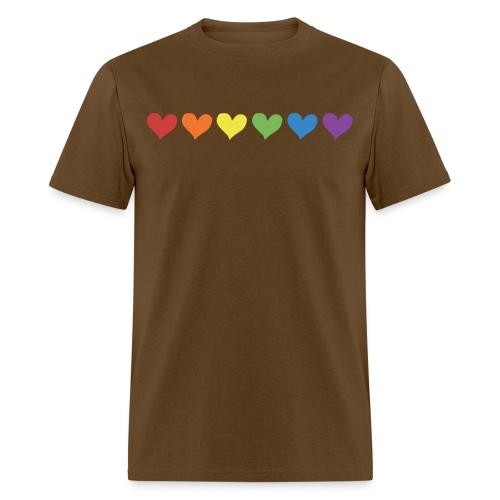 Pride Hearts - Men's T-Shirt