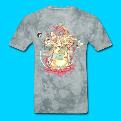 Contraption Brahma Neko - Men's T-Shirt