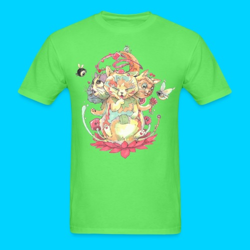 Contraption Brahma Neko - Men's T-Shirt