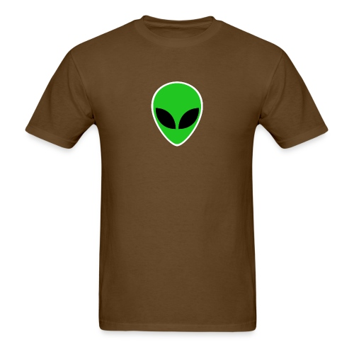 Alien Green Head - Men's T-Shirt