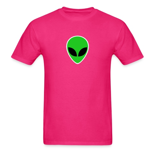 Alien Green Head - Men's T-Shirt