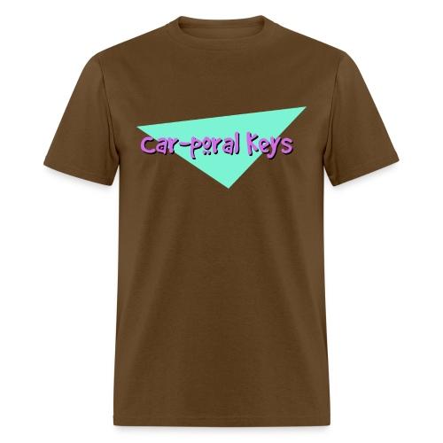 Car poral Keys Logo - Men's T-Shirt