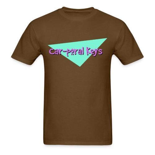 Car poral Keys Logo - Men's T-Shirt