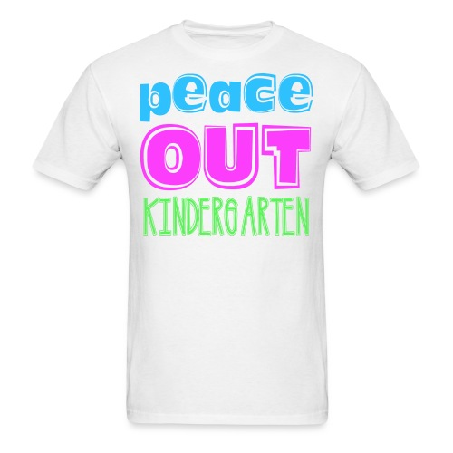 Kreative In Kinder Peace Out - Men's T-Shirt