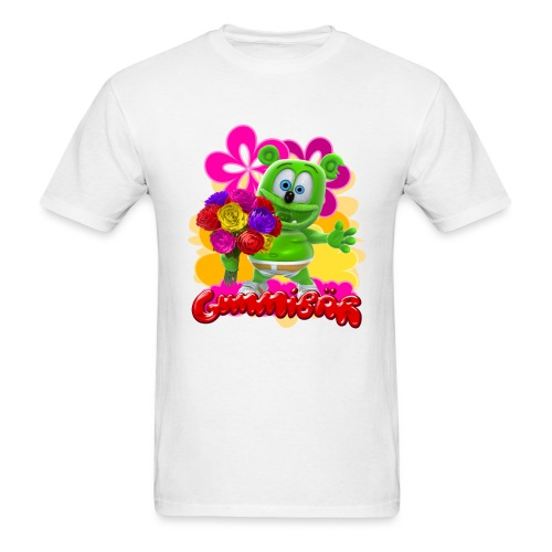 Gummibär Flowers - Men's T-Shirt