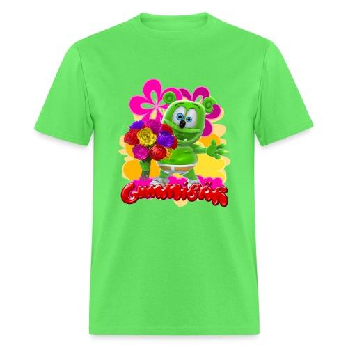 Gummibär Flowers - Men's T-Shirt