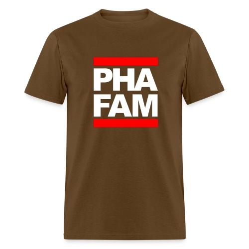 pha fam trademark PHAmily Clothing Company LL - Men's T-Shirt