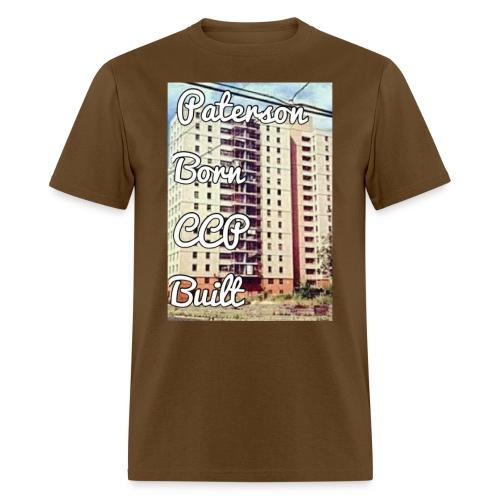 Paterson Born CCP Built - Men's T-Shirt
