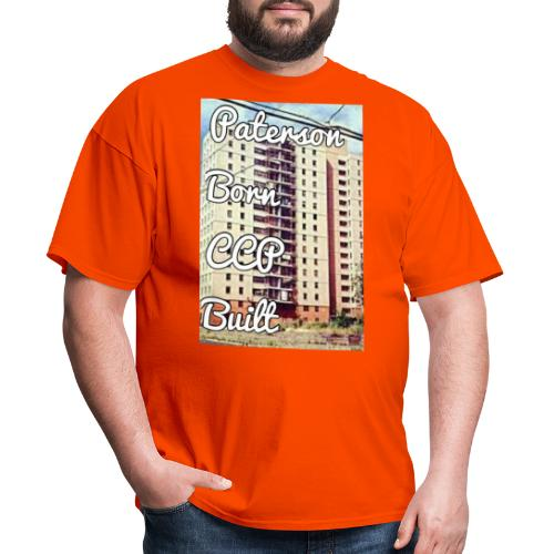 Paterson Born CCP Built - Men's T-Shirt