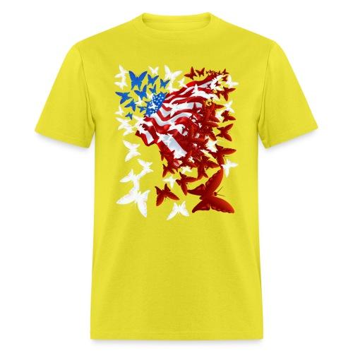 The Butterfly Flag - Men's T-Shirt