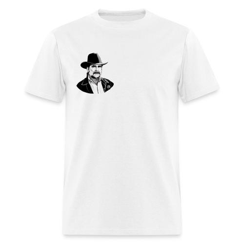 schneier10 cowboy white - Men's T-Shirt