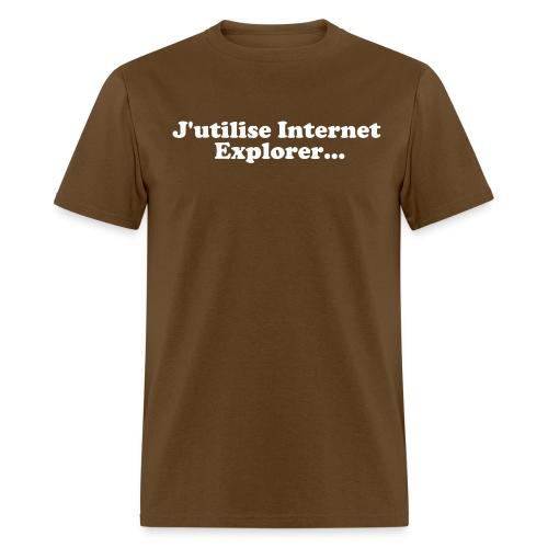 explorer - Men's T-Shirt