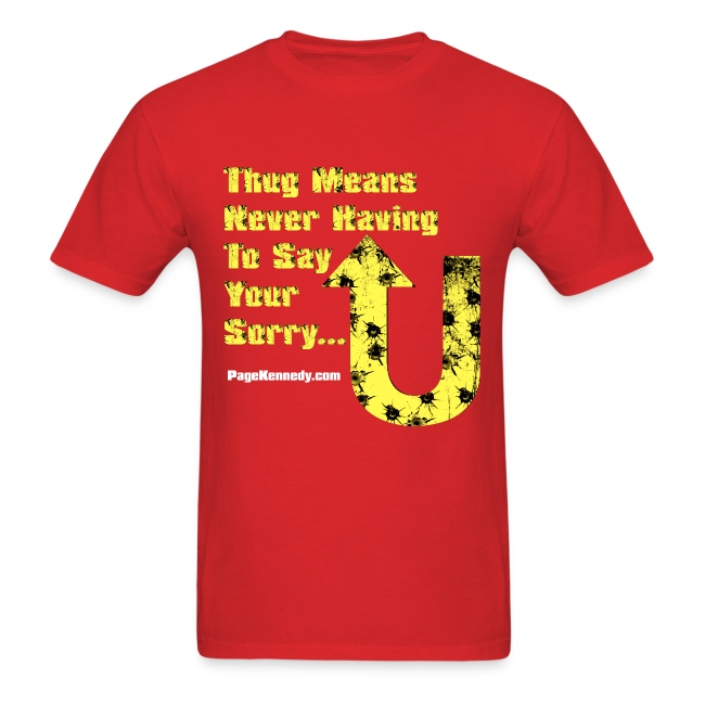 thug means yellow