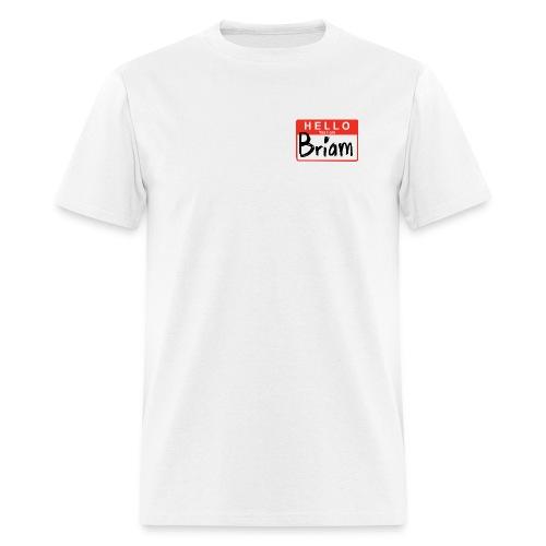hello 4x3 NEW - Men's T-Shirt