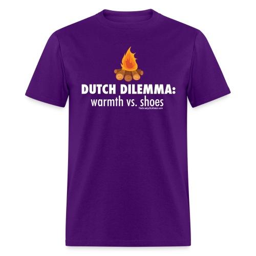 06 Dutch Dilemma white lettering - Men's T-Shirt
