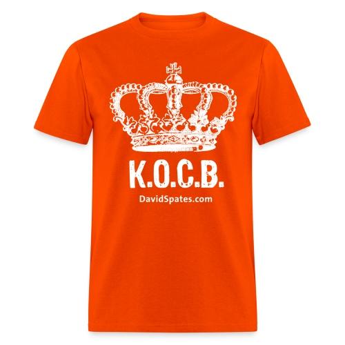 kocb white - Men's T-Shirt