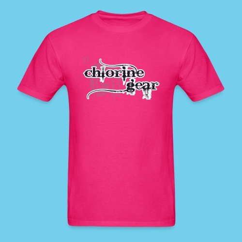 Chlorine Gear Textual stacked Periodic backdrop - Men's T-Shirt