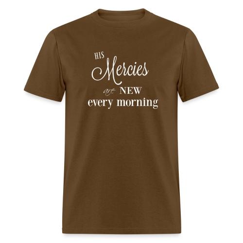 His Mercies are New - Men's T-Shirt