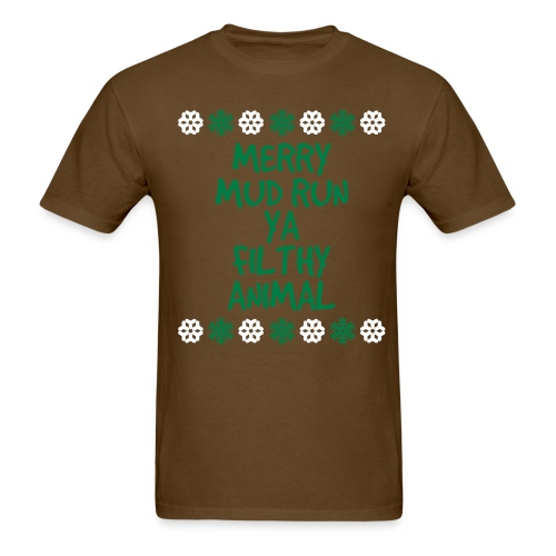 Merry Mud Run! - Men's T-Shirt