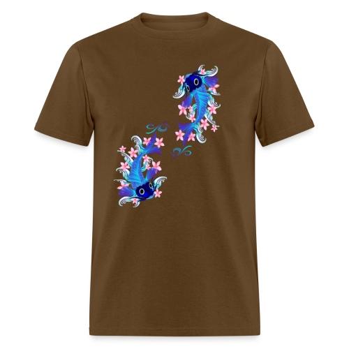 Two Blue Koi - Men's T-Shirt