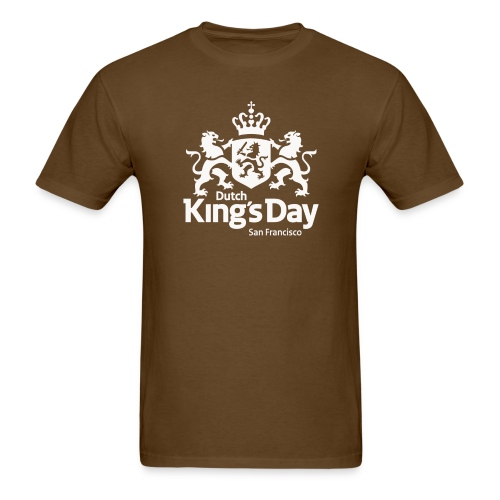 SF_DutchKingsDay_2017whit - Men's T-Shirt