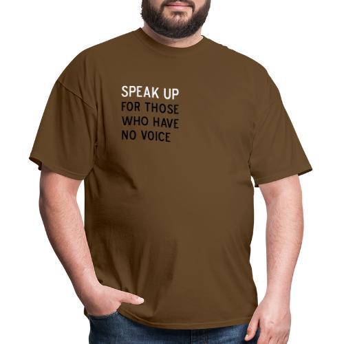 02 speak up - Men's T-Shirt